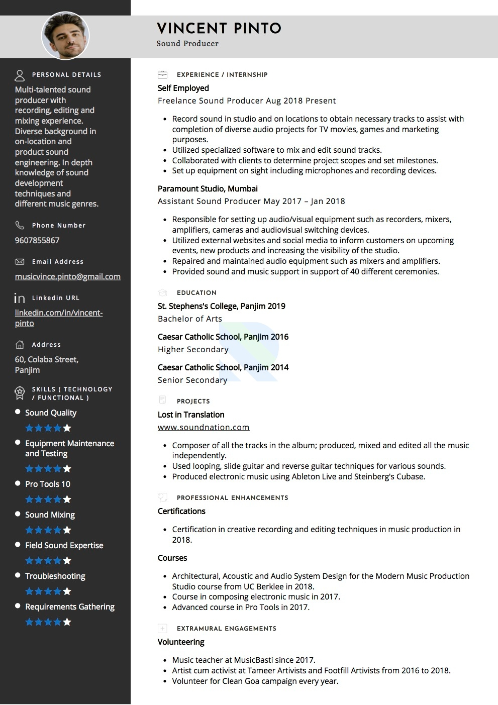 Sample Resumes And Cvs By Industry Resumod